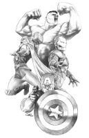 The AVENGERS: AVENGERS ASSEMBLE! by Sumo0172