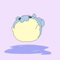 Spheal bounce GIF by CrazyIguana