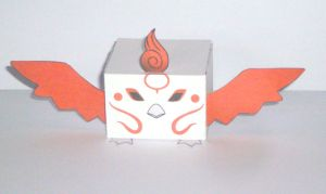 okamiden Moegami Brush God of Flames by scarykurt