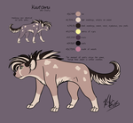 Dusty: ref sheet by Kirsui