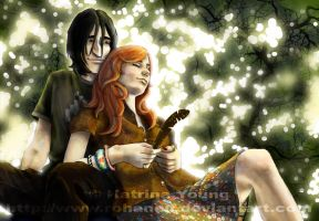 Sev and Lily by RohanElf