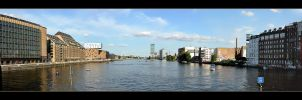 Spree Panorama - Berlin by skarzynscy