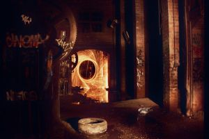 Fire in the brickworks by octopus7