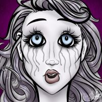 A ghosty girl by The-Lighted-Soul