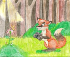 Tawny Fox Gift Art by Mellifluous-whispers