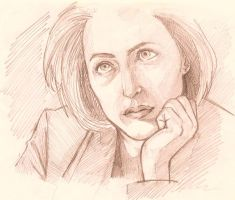 Dana Scully by nashKar