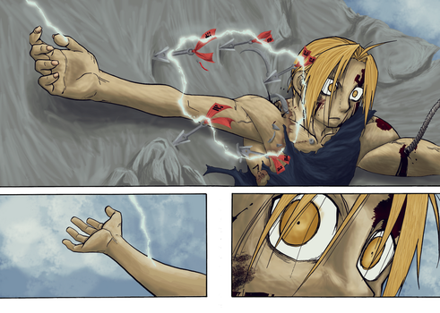 Edward Elric Coloring by larsi-artz