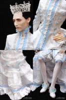 Snow Queen - costume details by scargeear