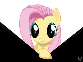 Curious Fluttershy by Ulanov75