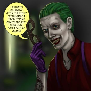 Jason Todd is the Joker by jim00