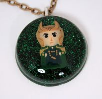 Loki trapped in resin by Metatronis