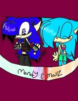 .:AT:.Mandy and Mallz by sonicfan5654