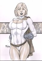 Powergirl by Fredbenes