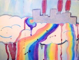 A rainbow is easy once you get to know it by Silvereye12