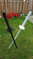 White and 3rd black Tensa Zangetsu by Coolekes