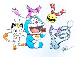 Doraemon x Pokemon (Doraemon)