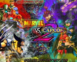 MVC2 fighting wallpaper by goliad