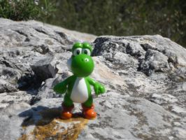 yoshi and nature 2 by valentin-mittler