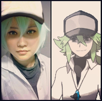 N Pokemon Black and White Costest by Sixteenation