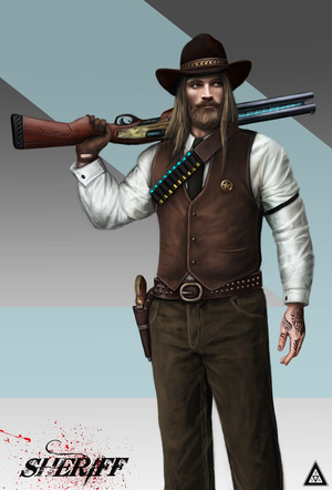 Cowboy  - Sheriff by Rodrigo-Sanches-A