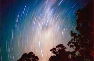 Star Trails III by Chrissyo