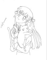Fruits Basket Lineart by xxxfallenskyxxx
