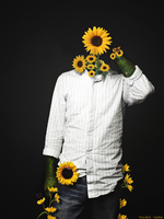 Sunflower Man by RanWal