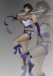 Soulcalibur IV - Chai Xianghua (no jacket) by Sterrennacht