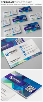 Corporate Business Card - RA70 by respinarte