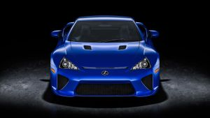 Lexus LFA Blue by NasG85