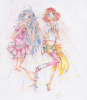 CE: Cotton Candy and Toffee Apple by Asuna---Chan