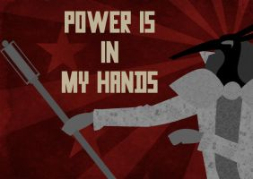 Power is in my hands by K-Zlovetch