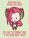 Zyra: League of Valentines by Jaunea