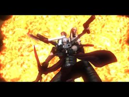 Devil may cry 4 by douser