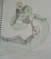 the Slytherin Twins by TheCape99
