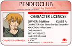Character License - ALEX by Pendeomod
