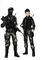 BF4 PLA Recon Class (Colored) by ND-2500