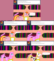 Ask Twilight and Copycat #22 by Kendell2