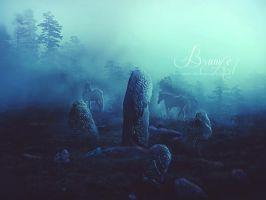 Stones and Secrets by Brumae-Art