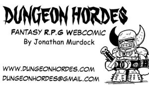 Dungeon Hordes Buisness Card by Dungeonhordes