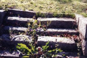 crumbling steps by faerykisses