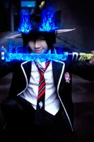 Ao no Exorcist by SerahSerrin