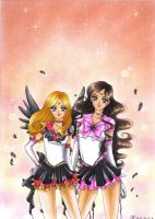 C: Eternal Sailor Sun and Eternal Sailor Asteroid by Toto-the-cat