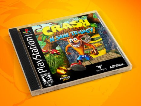 Crash N-Sane Trilogy Limited Edition Fan Cover Art by Joao-Martins