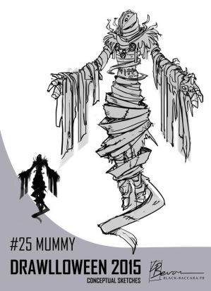 DH25 mummy by laurabevon by LauraBevon