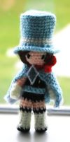 Trucy Wright Amigurumi by gnasler
