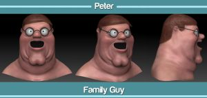 Peter Griffin by snakes23