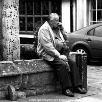 Passing Time, Having a Fag by EarthHart