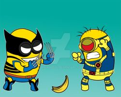 X-Minions in color by imJEANNEus