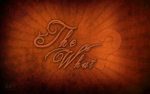 The What old wallpaper by mirul